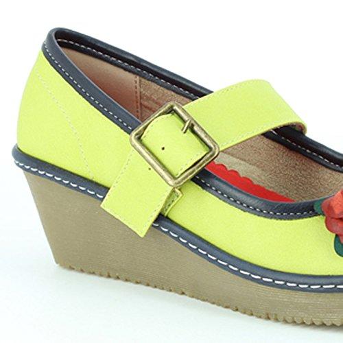 Heavenly Feet Carrie Schuhe Kalk Lime
