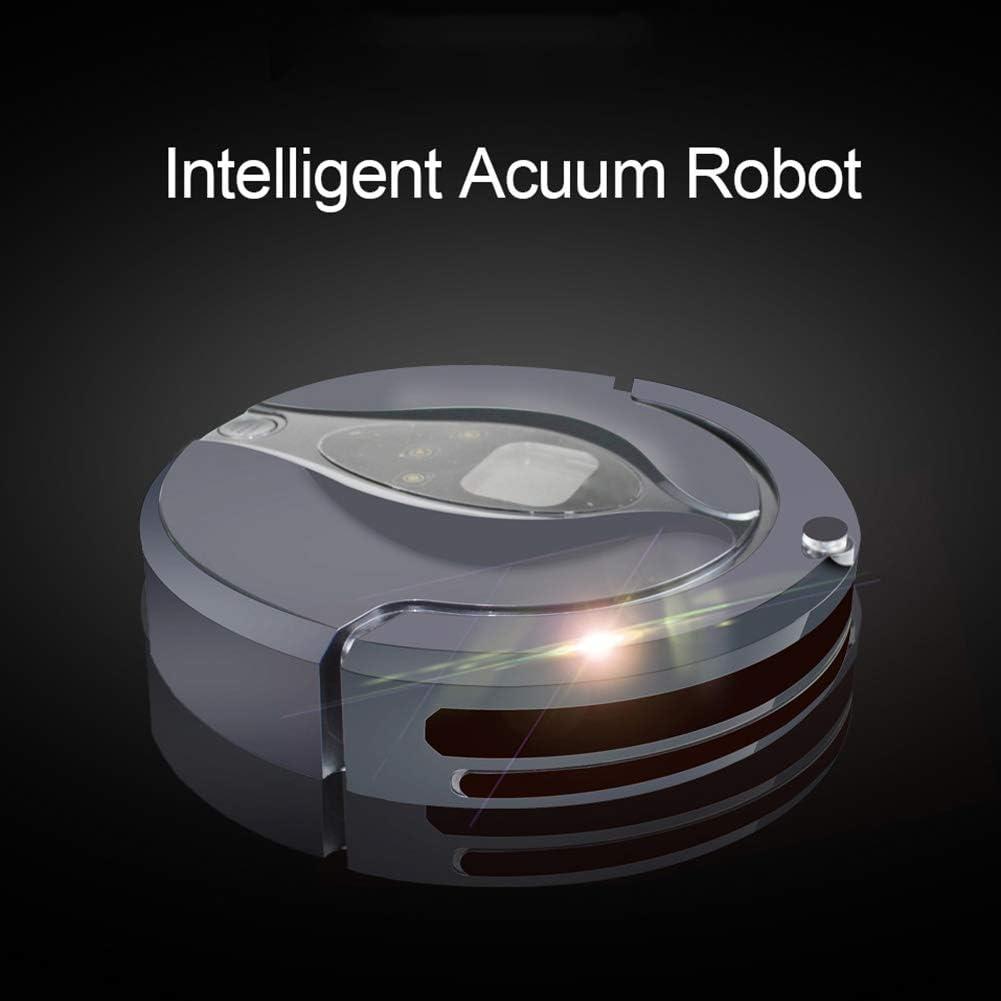 Not applicable Robotique Aspirateur Robot, sans Fil WiFi App Robot Route prévue Auto Aspirateur Rechargeable, for Tapis Nettoyage des ménages (Color : Blue) Blue