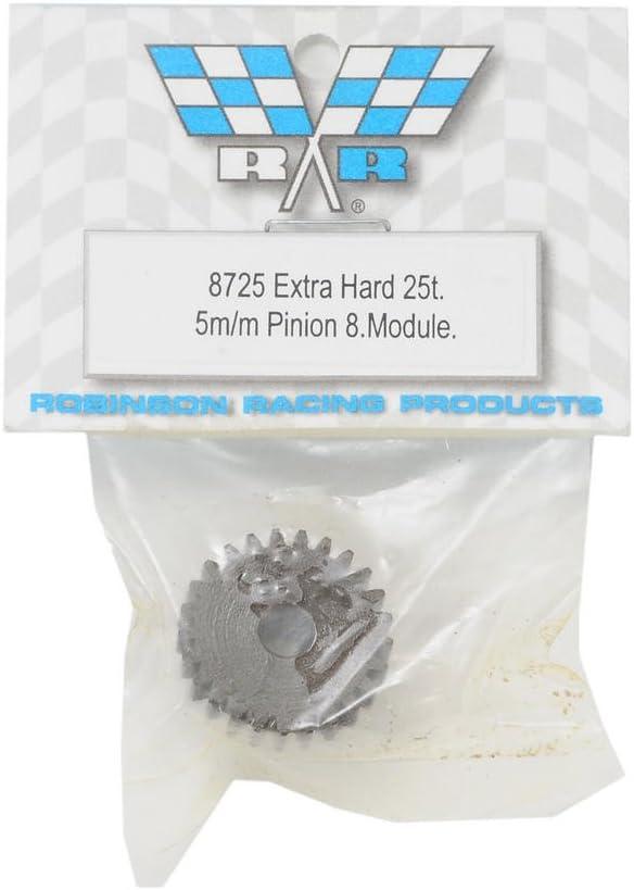 Robinson Racing 8725 Pinion Gear Xtra Hard 5mm 8 Mod 25T