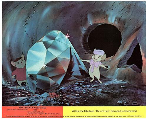 The Rescuers Walt Disney Animation Original Lobby Card 1977 Diamond Mice from Silverscreen