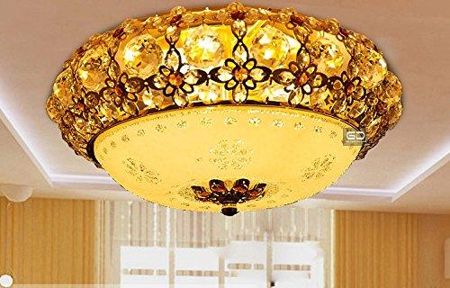 Kreativ Haushalt Deckenleuchte Fort Gitter Lampe Europäischen Wohnzimmer  Kristall Lampe Decke Warme Und Romantische Beleuchtung Schlafzimmer Den  Raumlampe ...