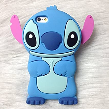 coque stitch rose iphone 7