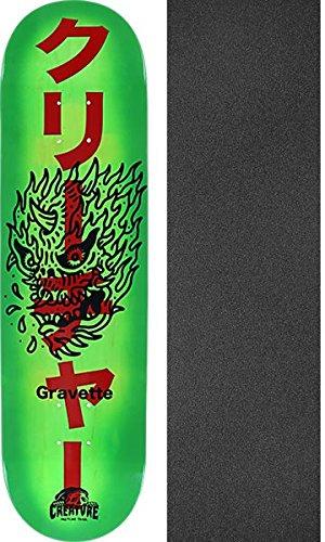 パラダイス不安定冷蔵するCreature Skateboards David Gravette Sketchyスケートボードデッキ – 8.2