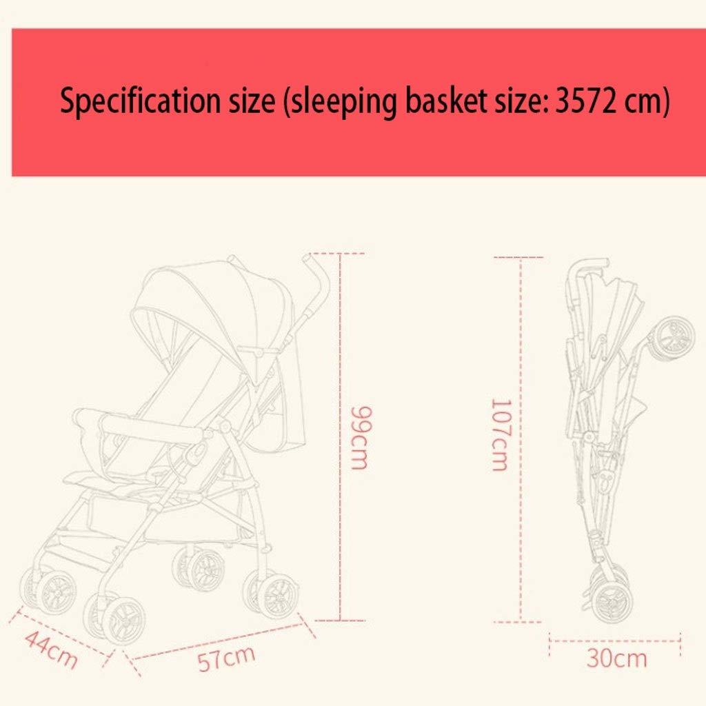 48bbd1fe0508 Amazon.com: MSNDD Baby Stroller Baby Stroller Umbrella Car Ultra ...