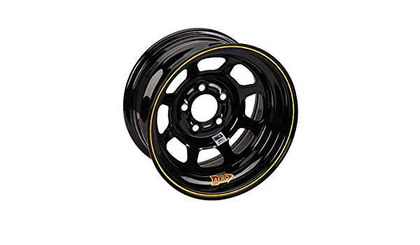 Aero Race Wheel 52-184740 15X8 4IN 4.75 BLACK