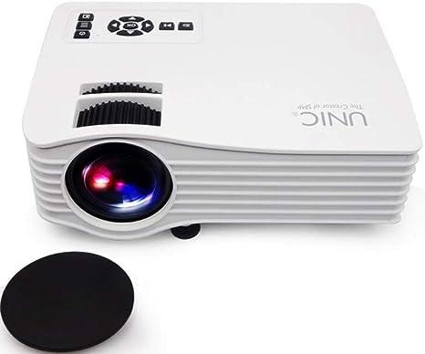Liu Projektor Unic T38 Uc36 1080p Mini Led Projektor Projektor Manuell I R Remote Einstellung Get Picture Von 1 2 Bis 4 2 Meter Küche Haushalt