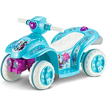 Kid Trax Frozen 6V Toddler Quad Ride On, Blue