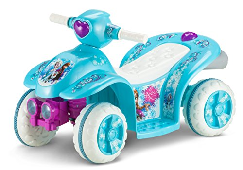 Disney Cars Scooter - Kid Trax Frozen 6V Toddler Quad Ride On, Blue