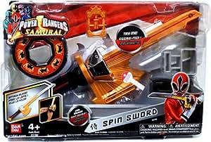 Espada giratoria de juguete, diseño de los Power Rangers