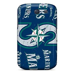 New Style Kristty Hard Case Cover For Galaxy S3- Seattle Mariners