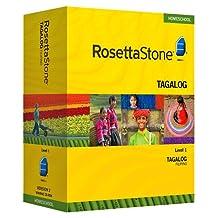 Rosetta Stone Homeschool Filipino (Tagalog) Level 1 including Audio Companion