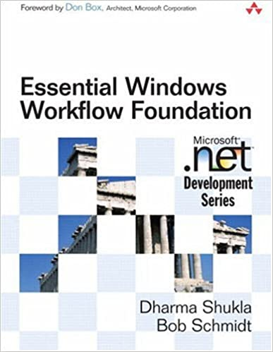 essential windows workflow foundation bob schmidt