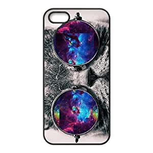 Colored glasses of gentle cats Cell Phone Case for iPhone 5S