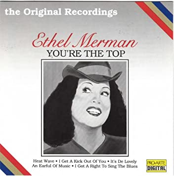 Autograph Ethel Merman I got Rythym Record Get a Kick out of you Signed PHOTO
