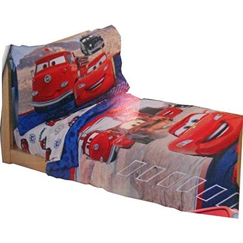 Amazon.com: Disney Pixar Cars cama infantil (4 piezas): Baby