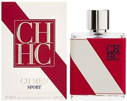 Carolina Herrera Ch Sport Eau de Toilette Spray for Men, 3.4 Ounce