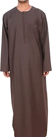 Alwajaha Casual Jalabiya For Men