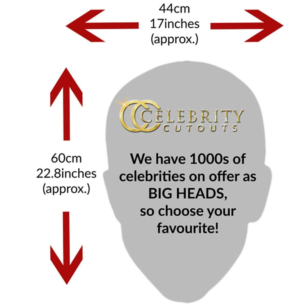 Big Head Celebrity Cutouts Nancy Pelosi Smile Larger Than Life mask.