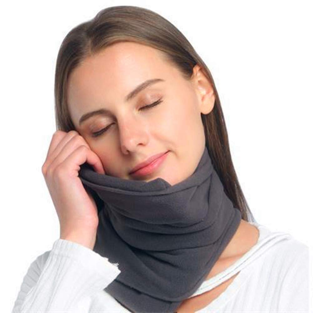 HOTU Travel Pillow Airplane Pillow Travel Neck Pillow Travel Neck Scarf Airplane Neck Pillow Airplane Travel Scarf Travel Pillow Scarf Airplane Sleep Pillow Airplane Pillow Scarf