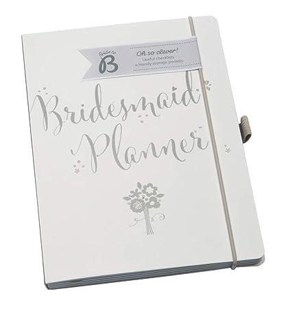 Busy B Bridesmaid Planner - Organizador personal, blanco ...