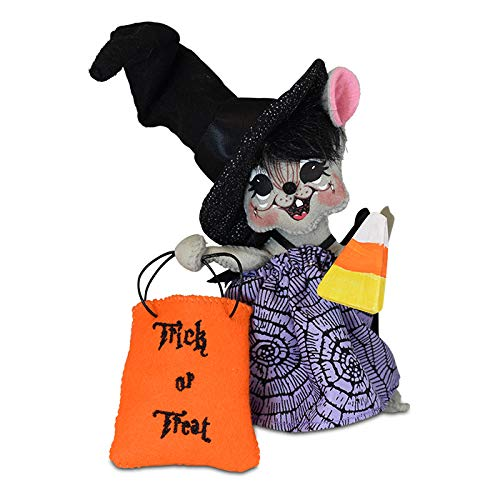 Annalee 6in Hocus Pocus Witch Mouse