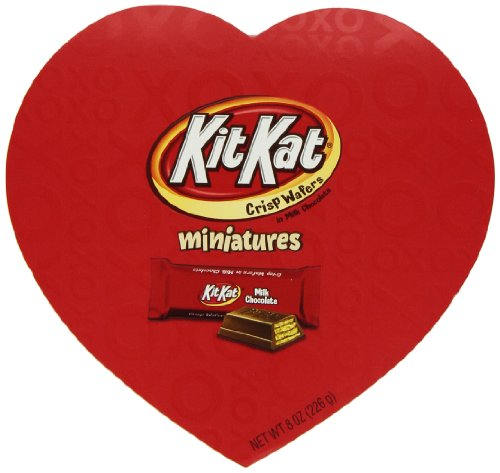 Kit Kat Valentine's Miniatures, 8 Ounce Heart (Heart Miniature)