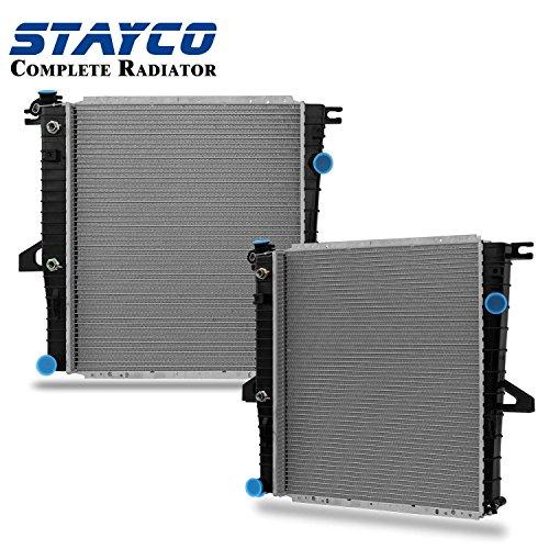 STAYCO Radiatorfor 1998-2010 Mazda B4000 4.0L V6 2001 Mercury Mountaineer 4.0L V6 2001-2005 Ford Explorer Sport Trac 4.0L V6