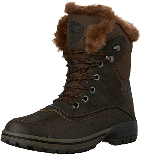 Pajar Mens Adrian Snow Boot Dark Brown/Brown/Black