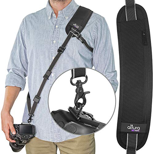 Altura Photo Rapid Fire Pro Camera Neck Strap