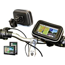 Navitech Cycle / Bike / Bicycle & Motorbike Waterproof holder Mount & Case For The Garmin Nuvi 42 / 42LM / 44LM
