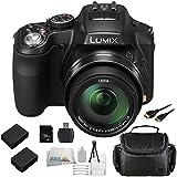 Panasonic Lumix FZ200 Digital Camera with SSE 16GB Point & Shoot Advanced Package