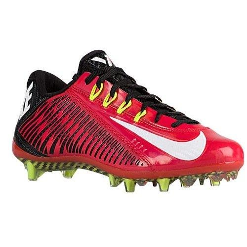 NIKE Vapor Carbon Elite TD Mens Football Cleats (12.5 D(M) US Red/White)