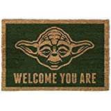 Star Wars Door Mat Floor Mat - Yoda, Welcome You Are (24 x 16 inches)