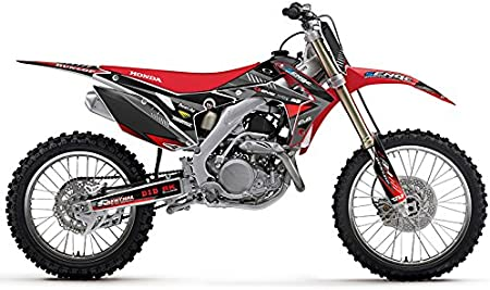 Compatible with Honda 2004-2013 CRF 70 Surge Black CUSTOM Senge Graphics Kit