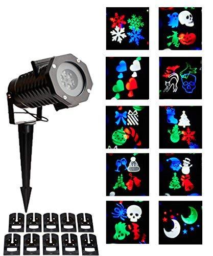 Amazon.com: TeddyTT Luces de proyector de Navidad ...