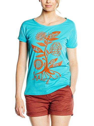 Maloja - T-shirt de sport - Femme Bleu bleu M