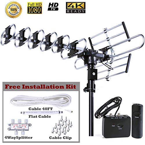 yagi long range tv antenna - 8