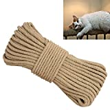 Aoneky Replacement Cat Scratching Post Sisal Rope - Hemp Rope Cat Tree Tower (1/4'' 164 Ft)