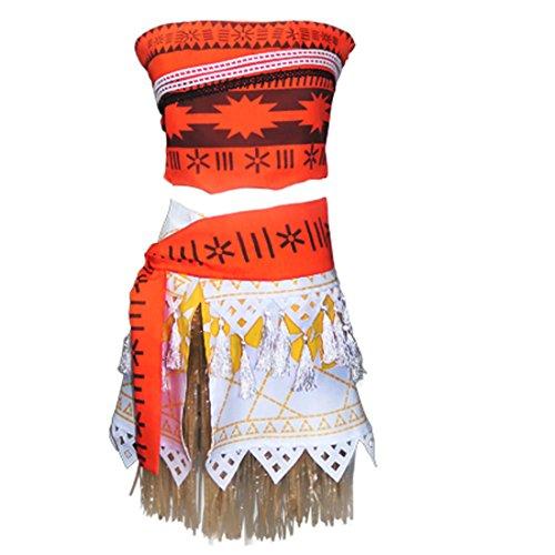 Ainiel Halloween Cosplay Costume Skirt Set for Women Girls