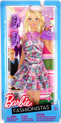 Barbie Fashionistas - Pastel Ruffle Dress with