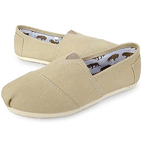 lona suave 6UO1cy81T8 y cl mujer y casual con YIFEIKU de zapatillas Zapatillas de de Ltd estilo 8OddTS