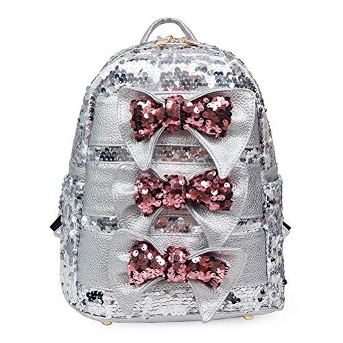 l'¨¦cole sac filles dos paillettes Casual ¨¤ Sparkle Abuyall femmes des pour Sequin dos sac Daypack ¨¤ Bling Pt15 P1wqEA4