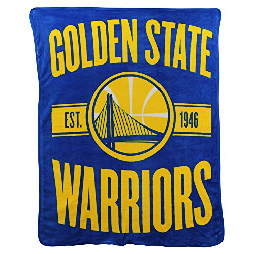The Northwest Company NBA Clear Out Super Soft Plush Throw Blanket (Golden State - Kids Nba Recliner