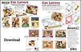 Software : ScrapSMART - Cat Lovers Cards & Envelopes Software Collection: Microsoft Word, Jpeg, and PDF files [Download]