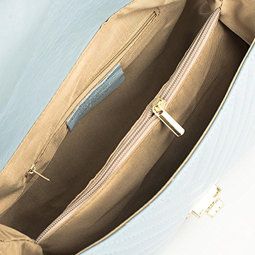 monogram chevron borsa con a a mano spalla Ross pelle italiana trapuntata borsa borsa elegante catena borsa tracolla SINDY MYITALIANBAG tote a trapuntata vera matelasse Borsetta qz0IPPt7