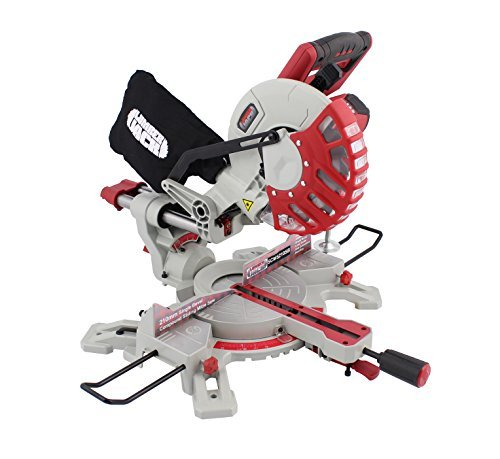 Lumberjack SCMS210SB 8' 210mm Single Bevel Sliding Compound Mitre Saw 230V