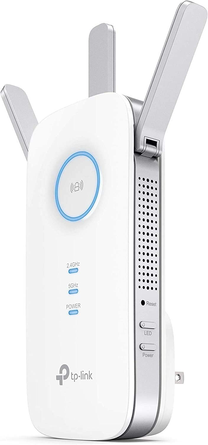 Amazon.com: TP-Link AC1750 WiFi Extender (RE450), PCMag Editor's Choice, Up  to 1750Mbps, Dual Band WiFi Repeater, Internet Booster, Extend WiFi Range  further: Computers & Accessories