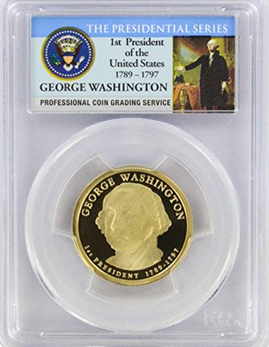 2007 Washington Presidential S Proof Presidential Dollar PR-69 PCGS 2007 George Washington Coin