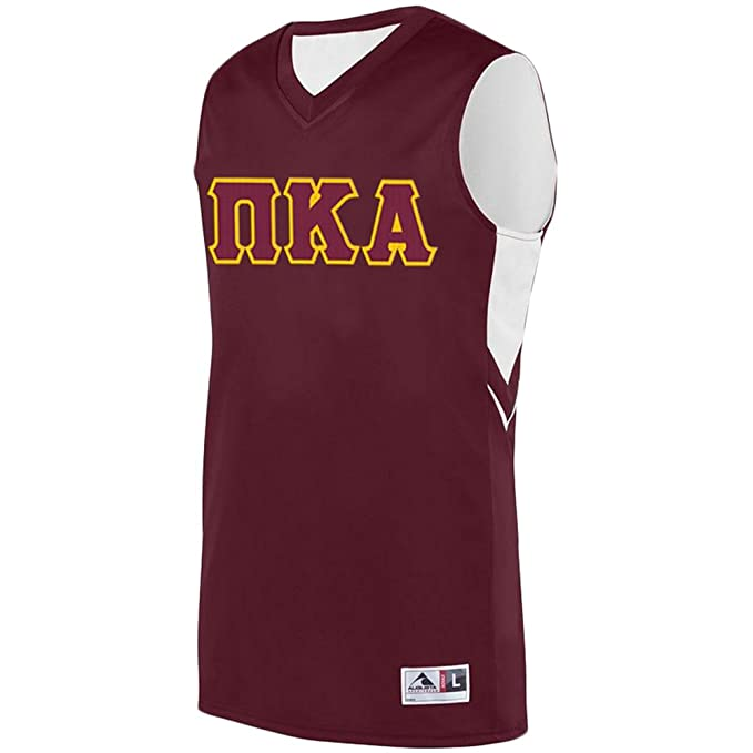 74bd0bf6035 Amazon.com: Pi Kappa Alpha Pike Alley-OOP Basketball Jersey: Clothing