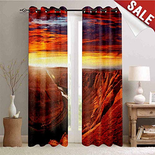 Flyerer Landscape, Decor Curtains by, Fantastic Scenery of